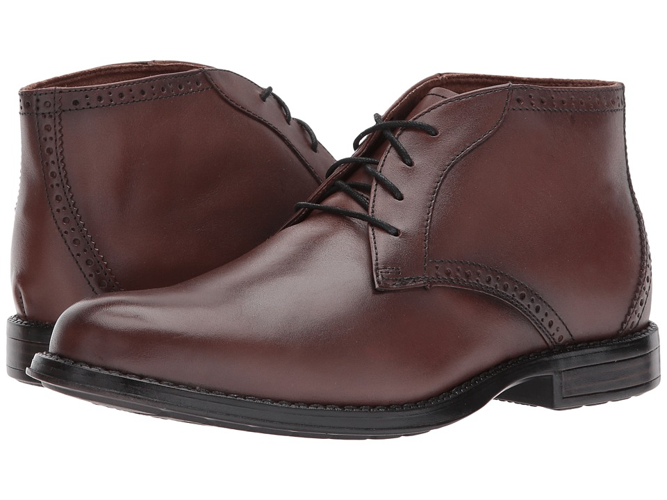 Nunn Bush - Russell (Chestnut) Men's Shoes