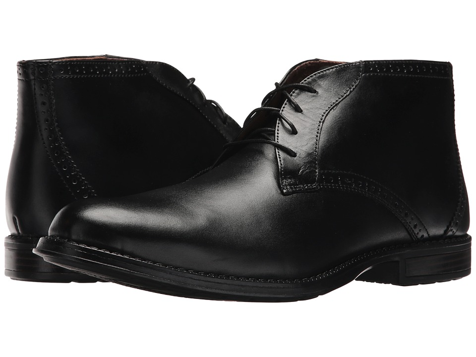 Nunn Bush - Russell (Black) Men's Shoes