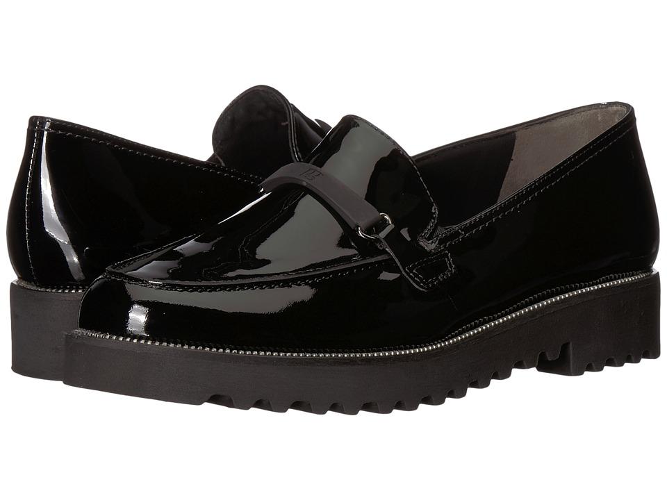 Paul Green Nox Loafer (Black Patent) Women