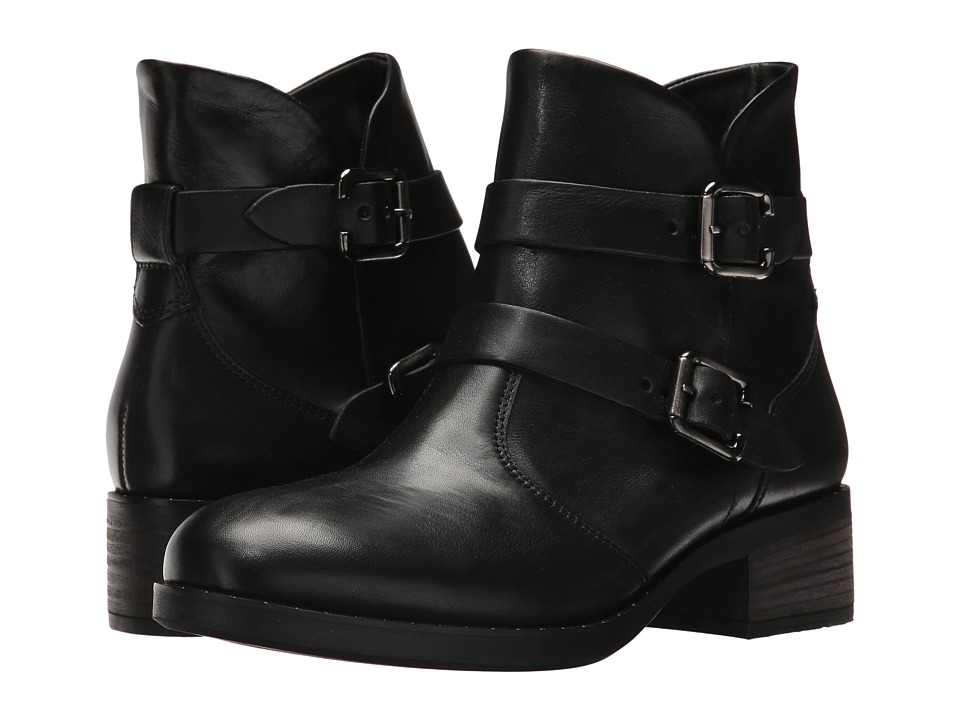 Paul Green Newbury Boot (Black Leather) Women