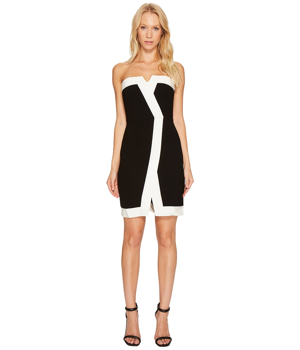 Rachel Zoe Corwin Dress (Black/Ecru) Women