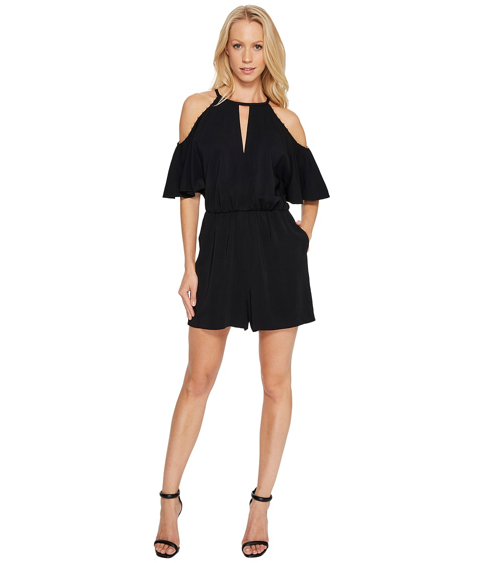 Rachel Zoe - Gemini Romper (Black) Women's Jumpsuit & Rompers One Piece