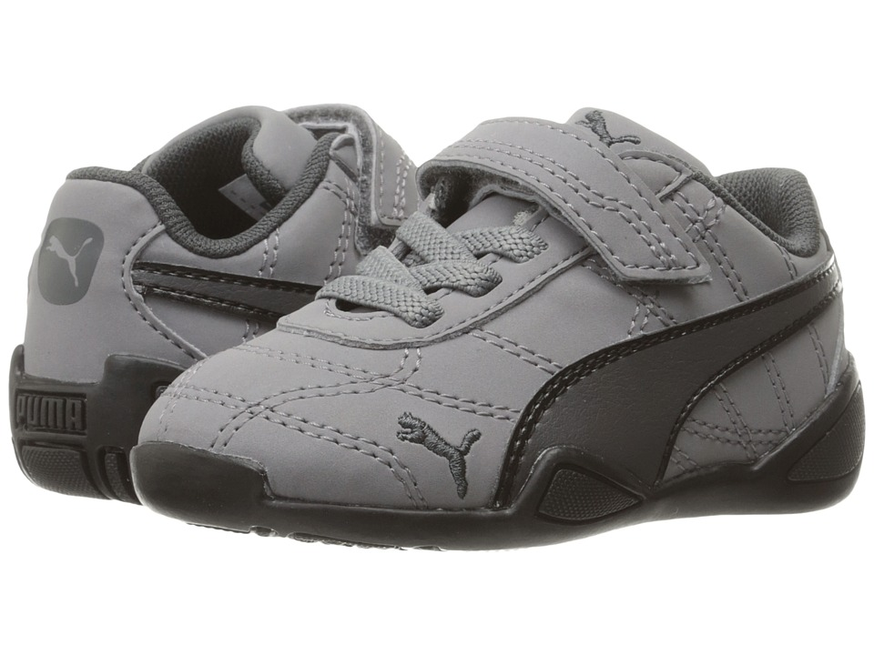Puma Kids - Tune Cat 3 Nubuck V (Toddler) (Quiet Shade/Asphalt/PUMA Black) Kids Shoes