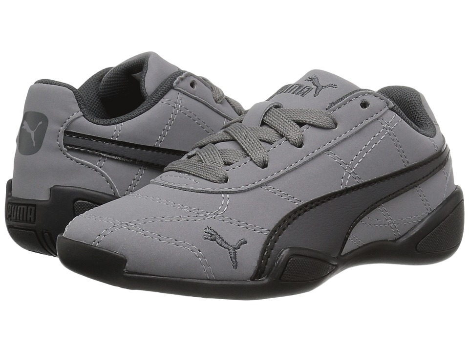 Puma Kids - Tune Cat 3 Nubuck (Little Kid/Big Kid) (Quiet Shade/Asphalt/PUMA Black) Kids Shoes
