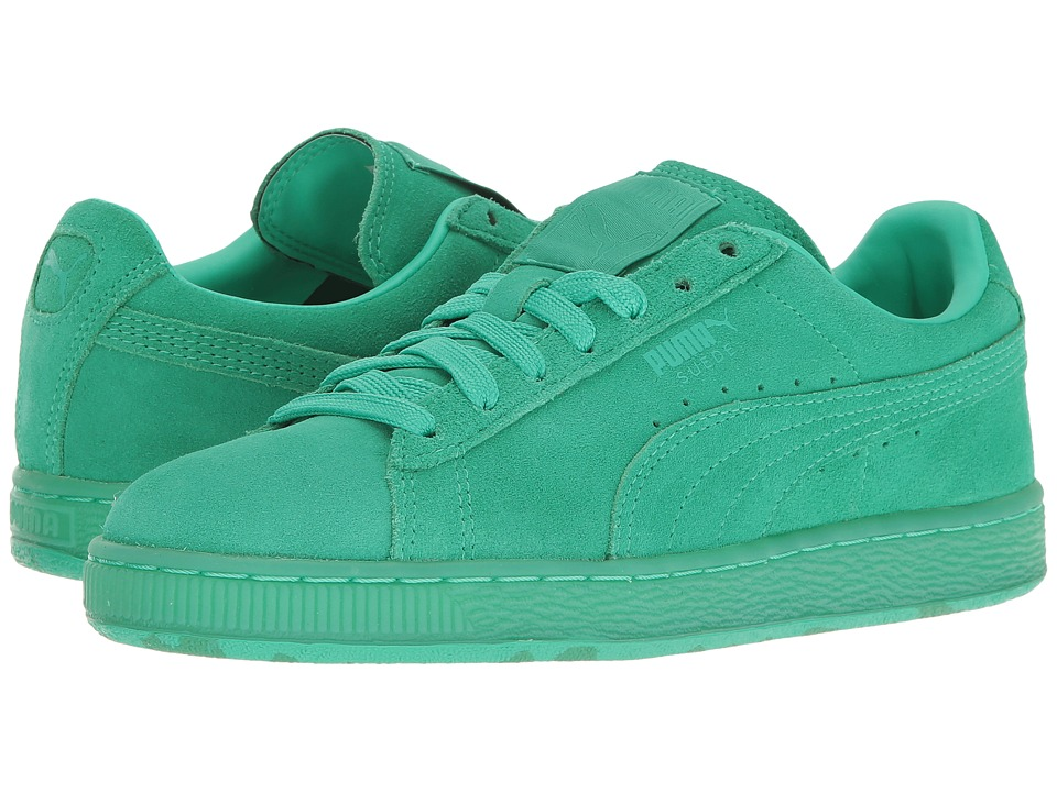 Puma Kids - Suede Classic Ice Mix (Big Kid) (Mint Leaf/Simply Green) Kids Shoes
