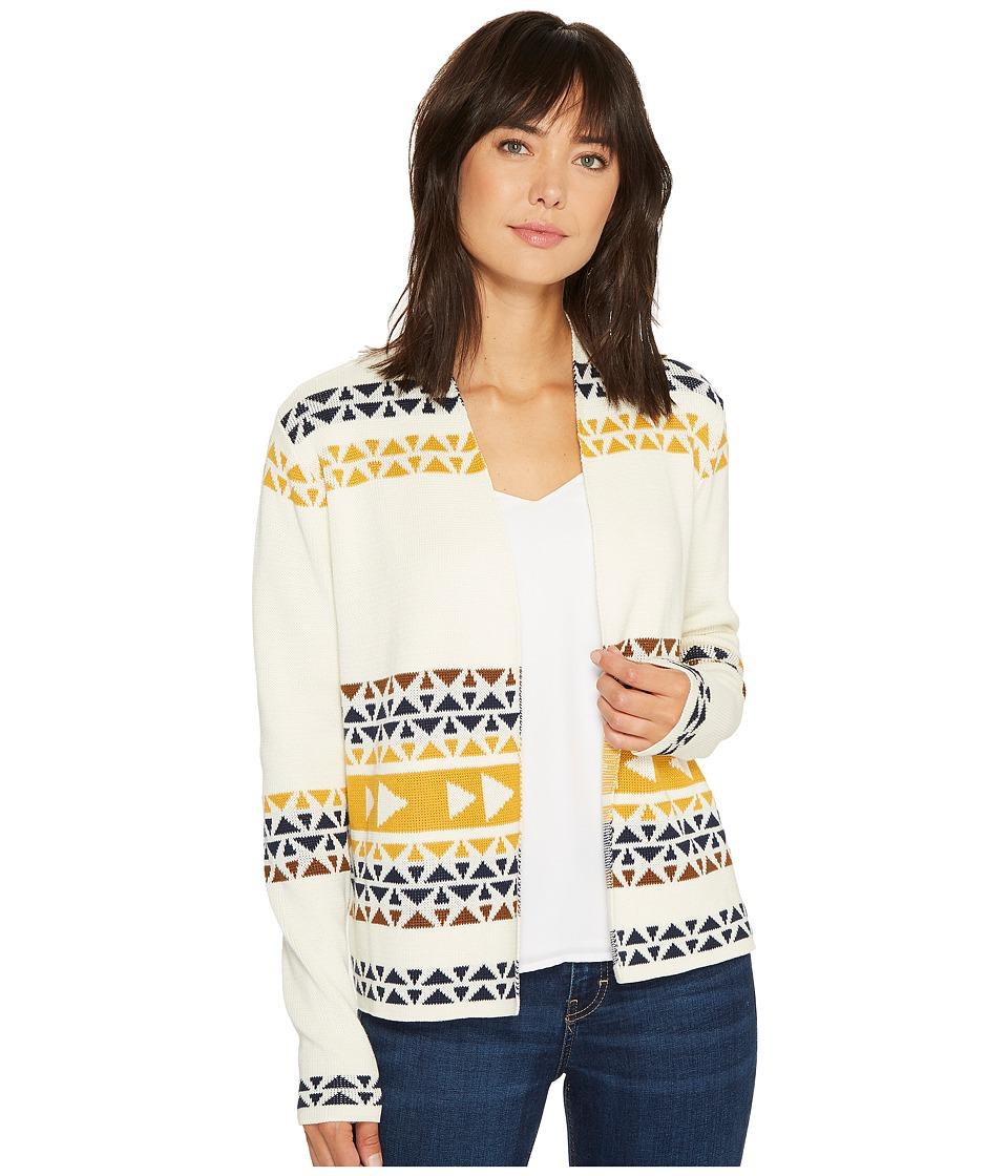 Pendleton - Thunder Cardigan (Ivory Multi) Women's Sweater