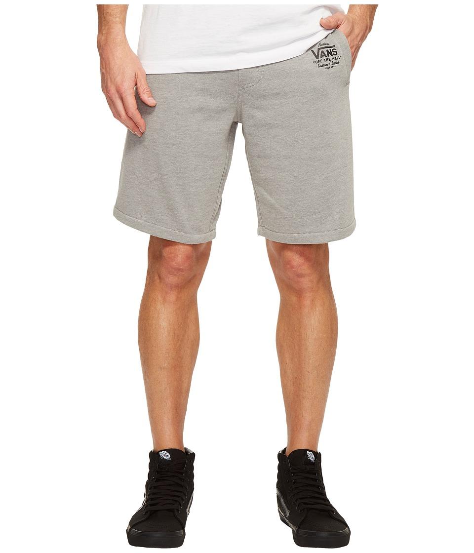 Vans - Holder Fleece Shorts (Black Heather) Men's Shorts