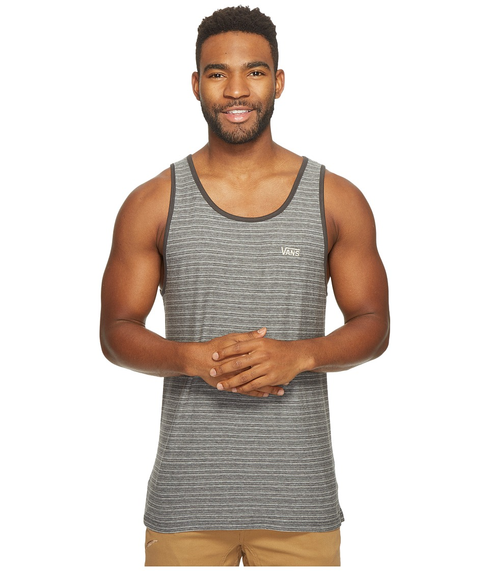 Vans - Balboa II Tank Top (New Charcoal) Men's Sleeveless