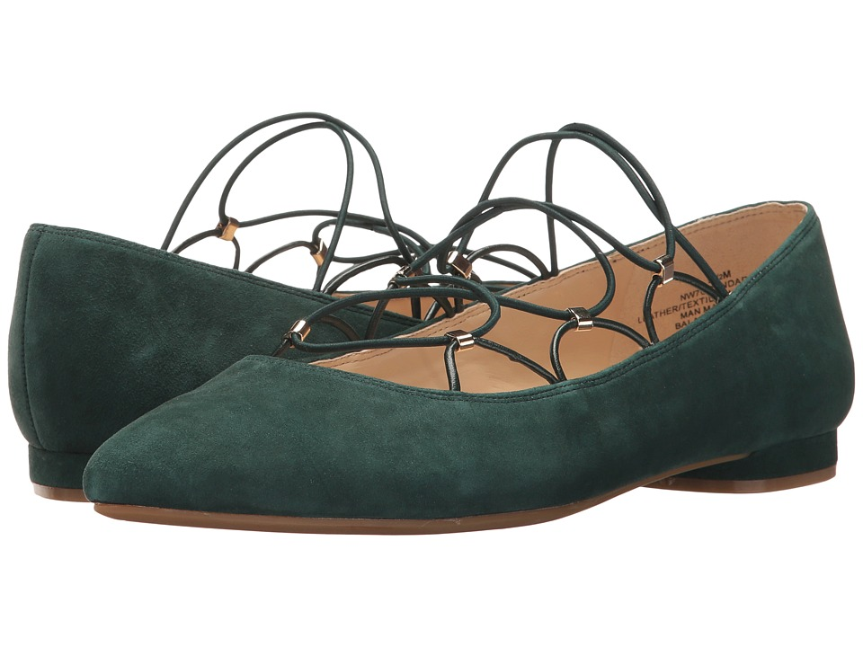 Nine West - Openadoor (Dark Emerald/Dark Emerald) Women's Shoes
