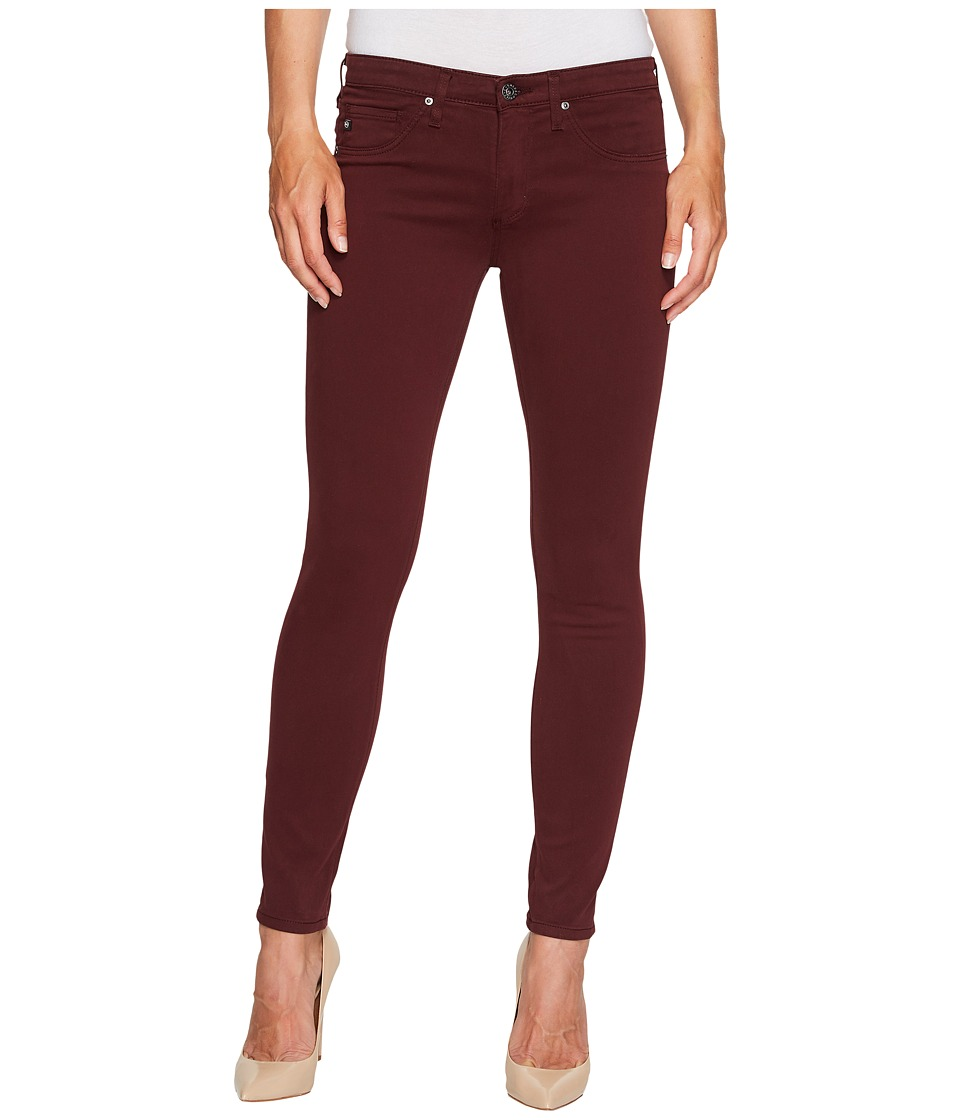 AG Adriano Goldschmied The Leggings Ankle (Deep Currant) Women's Casual Pants