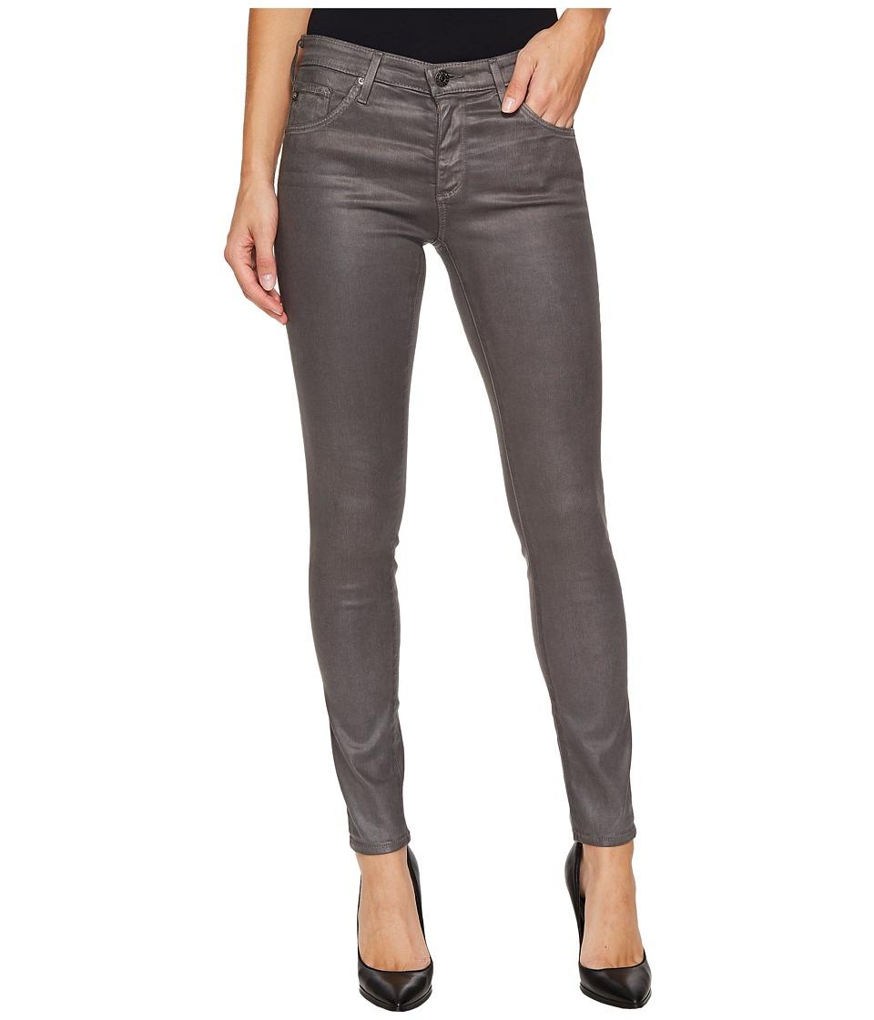 AG Adriano Goldschmied - The Leggings Ankle in Leatherette Light Field Stone (Leatheret te LT Field Stone) Women's Casual Pants