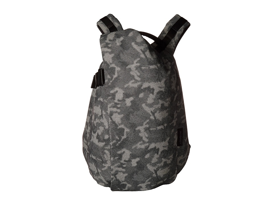 cote&ciel - Isar Medium Camo Eco Yarn Backpack (Stone Grey/Crypsis) Backpack Bags