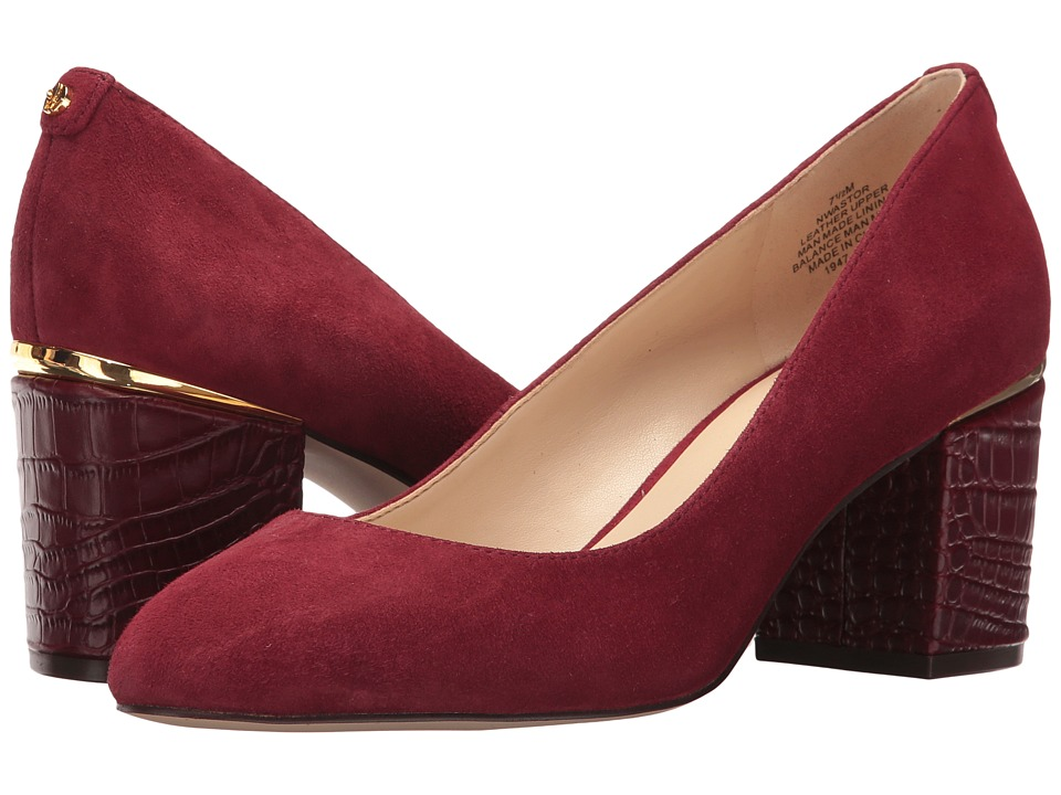 Nine West Astor (Wine Suede) Women