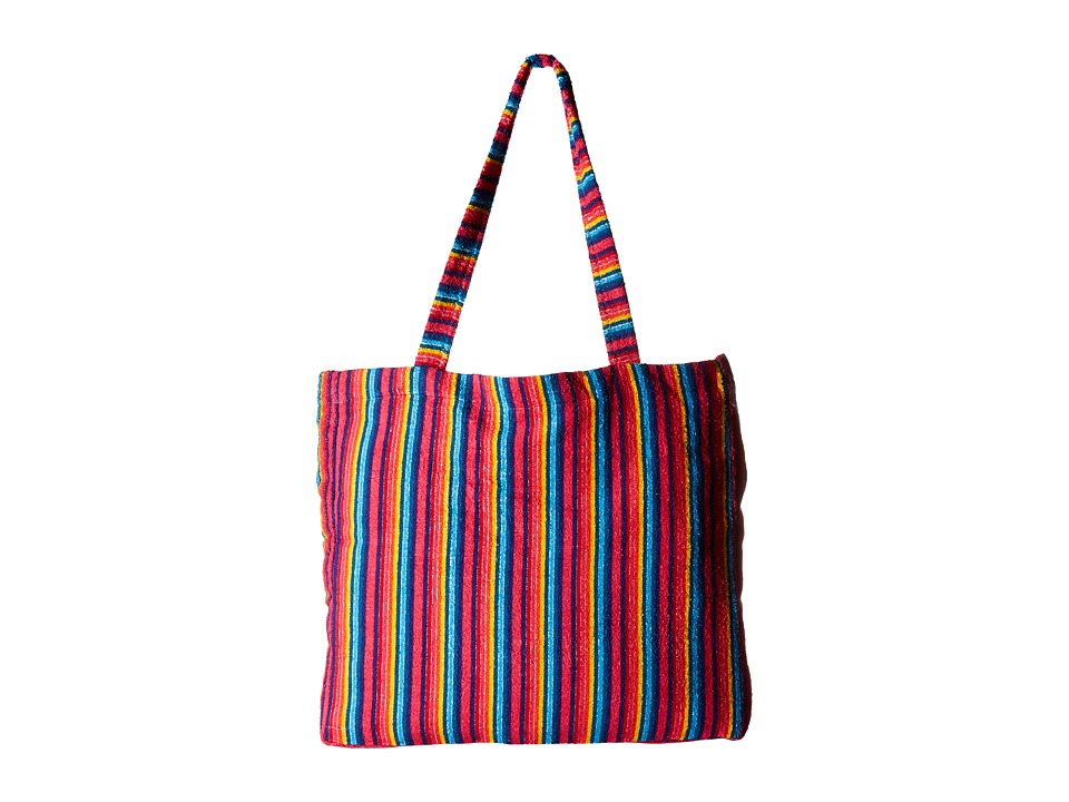 Show Me Your Mumu - Poolside Tote (Stripe Up Your Life) Tote Handbags