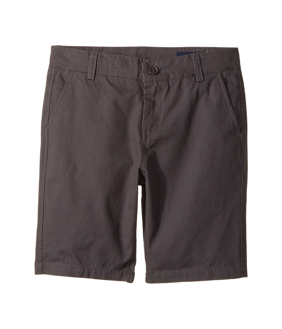 Toobydoo - Chino Shorts (Infant/Toddler/Little Kids/Big Kids) (Charcoal) Boy's Shorts