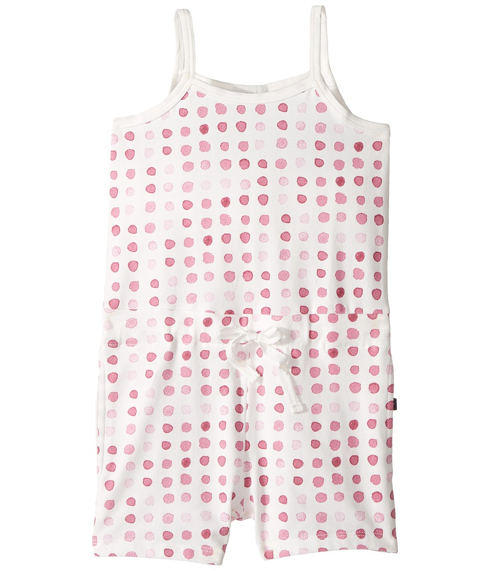 Toobydoo - Laguna Beach Romper (Toddler/Little Kids/Big Kids) (Watercolor Pink/White) Girl's Jumpsuit & Rompers One Piece