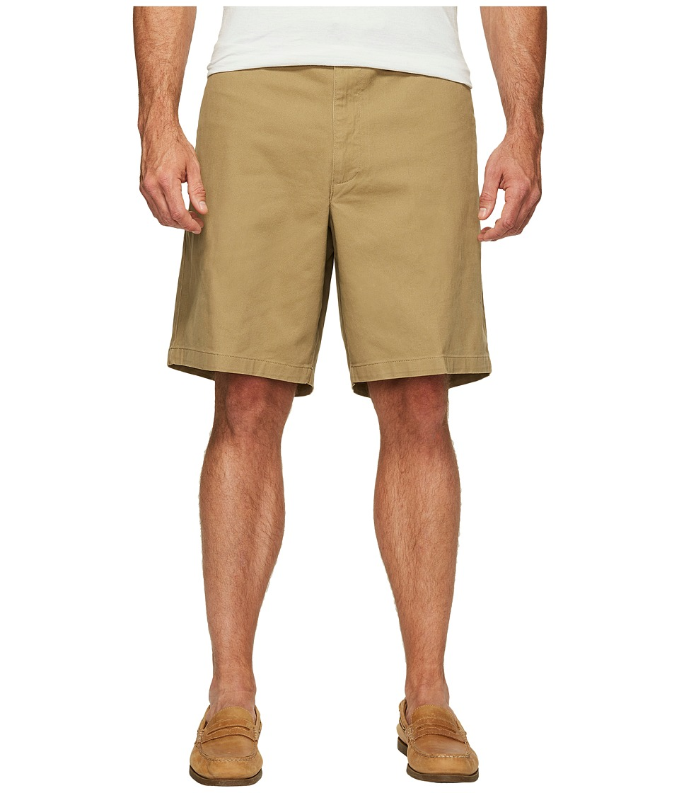Dockers - Big Tall Flat Front Shorts (New British Khaki) Men's Shorts