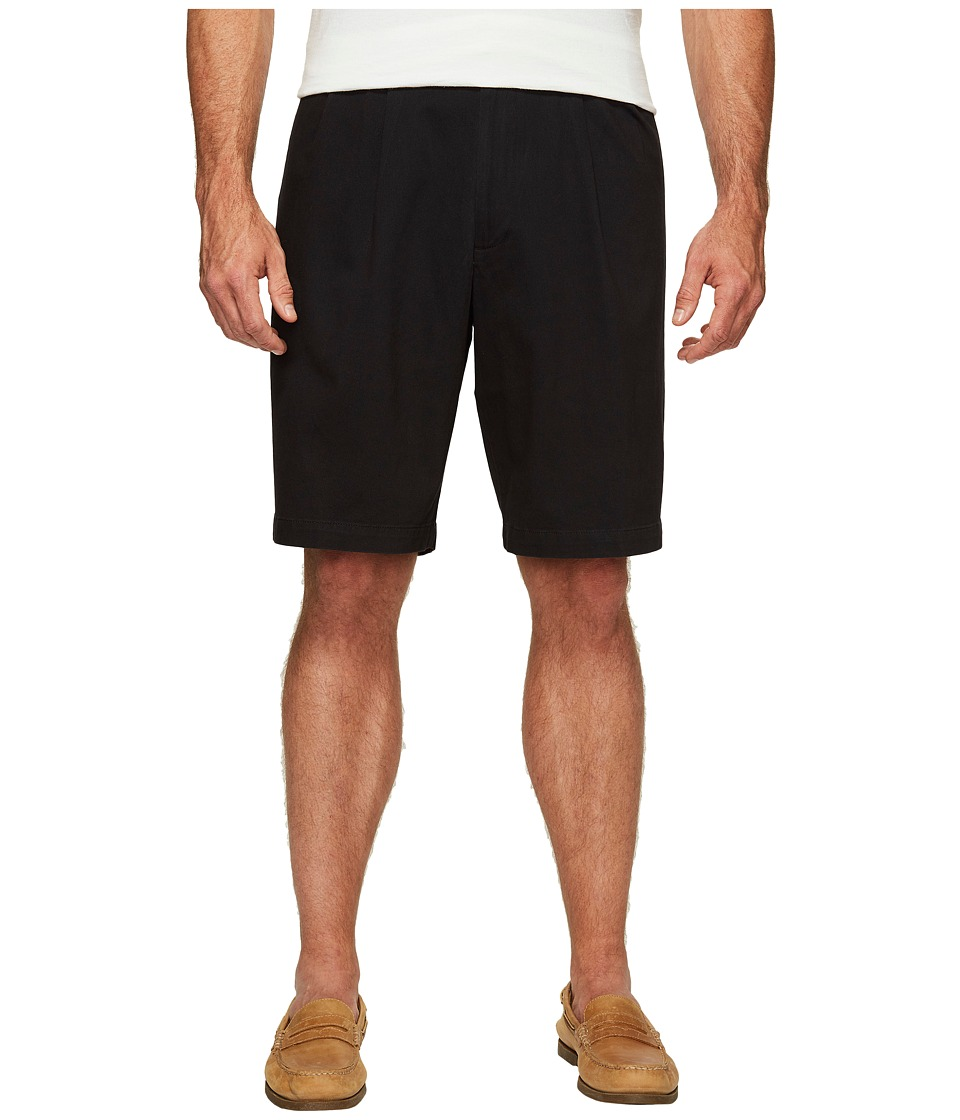 Dockers - Big Tall Double Pleat Shorts (Black) Men's Shorts