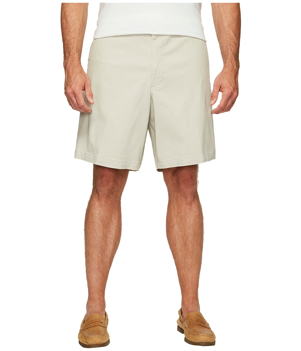 Dockers - Big Tall Flat Front Shorts (Porcelain Khaki) Men's Shorts