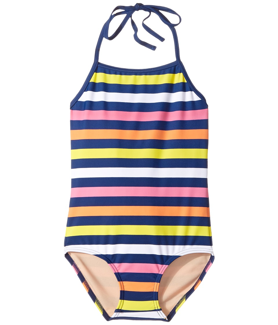Toobydoo - Santa Monica Stripe One-Piece (Infant/Toddler/Little Kids/Big Kids) (Multi Stripe) Girl's Jumpsuit & Rompers One Piece