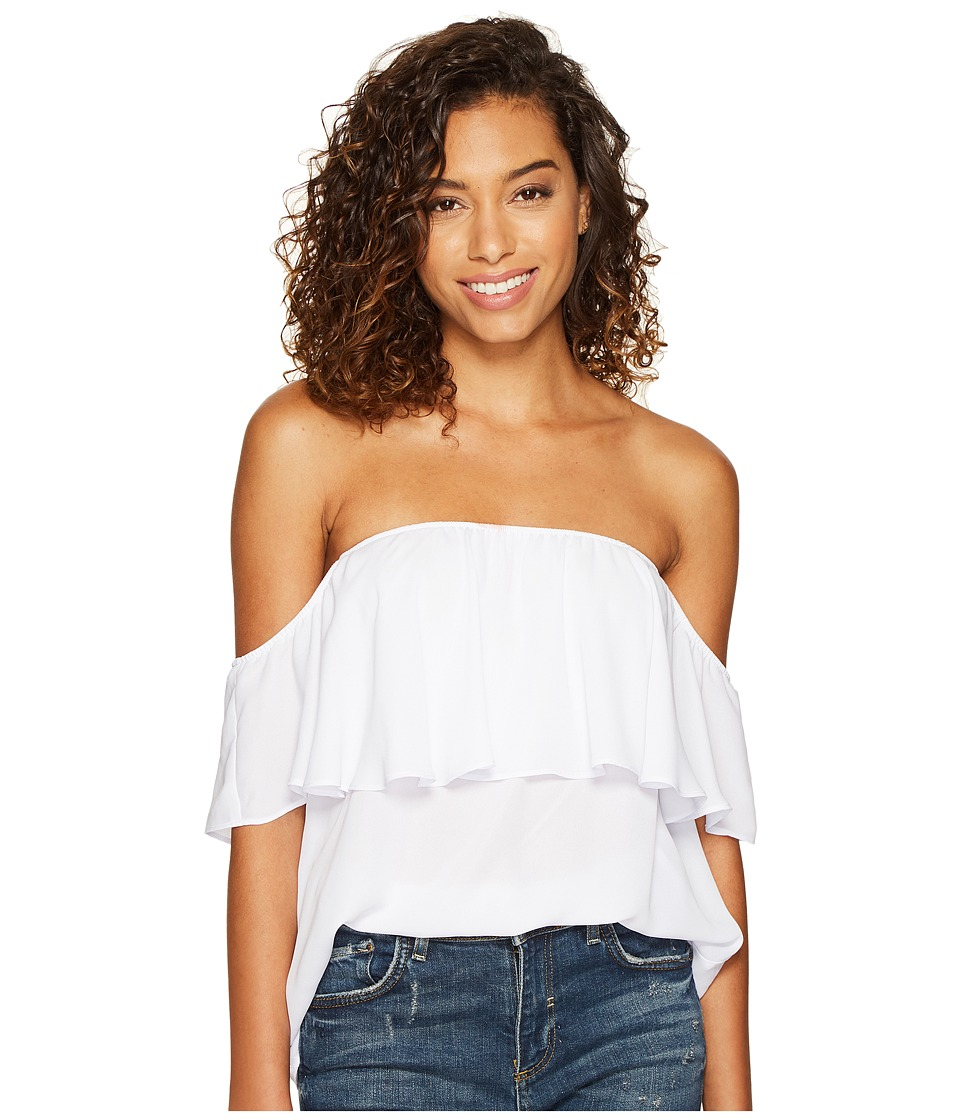 Show Me Your Mumu - Chiquita Top (White Crisp 1) Women's Blouse