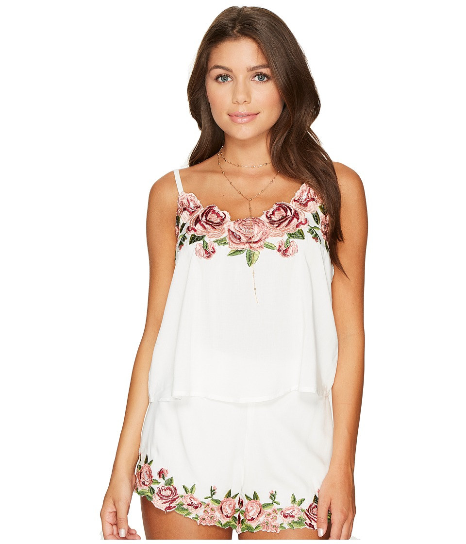 Show Me Your Mumu - Wesley Top (Rosie Posie Embroidery) Women's Clothing