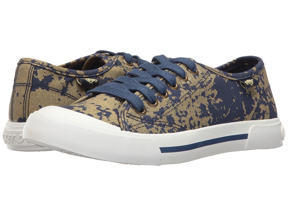 Rocket Dog - Jumpin (Dark Blue/Gold Psyche) Women's Lace up casual Shoes