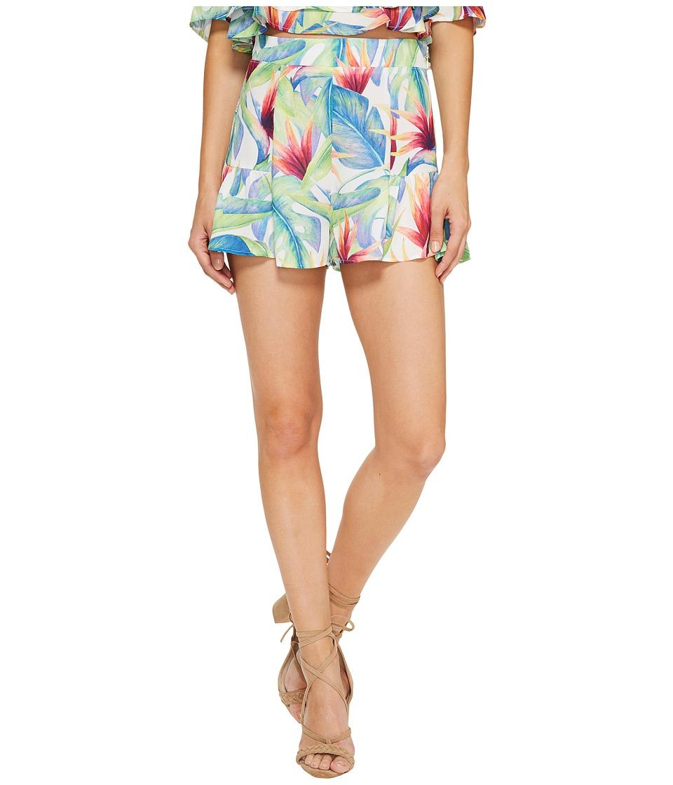 Show Me Your Mumu - Skippy Shorts (Palm Flings) Women's Shorts