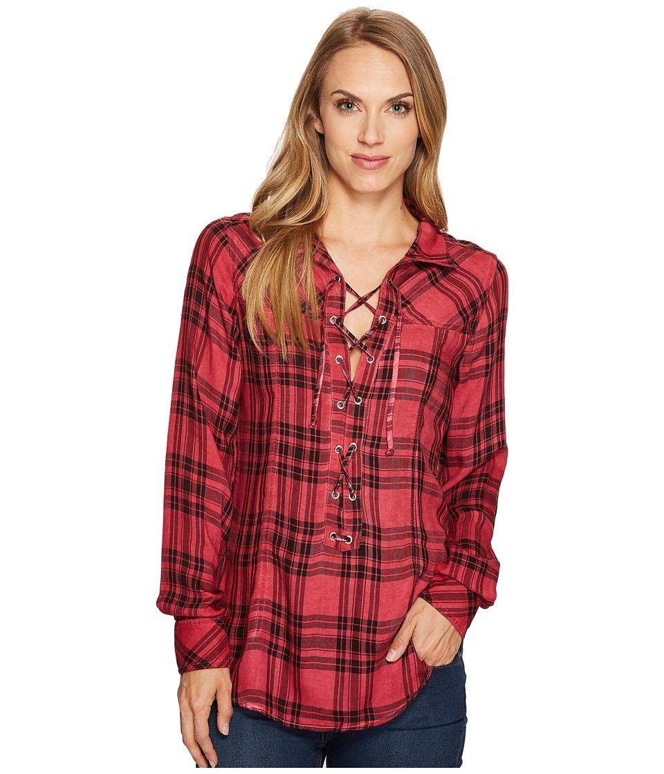 Tasha Polizzi - Bandit Shirt (Red) Women's Clothing