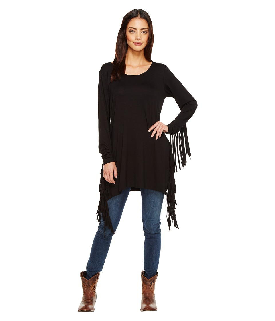 Tasha Polizzi - Teton Tunic (Black) Women's Clothing