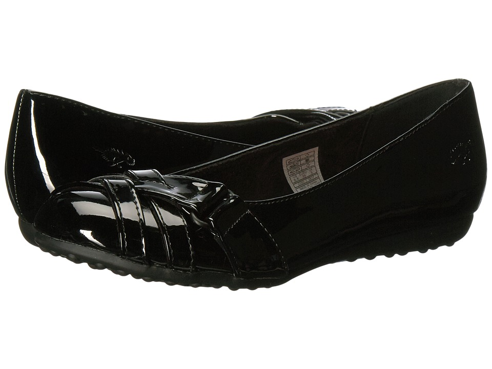 Rocket Dog - Rebel (Black Patent) Women's Flat Shoes