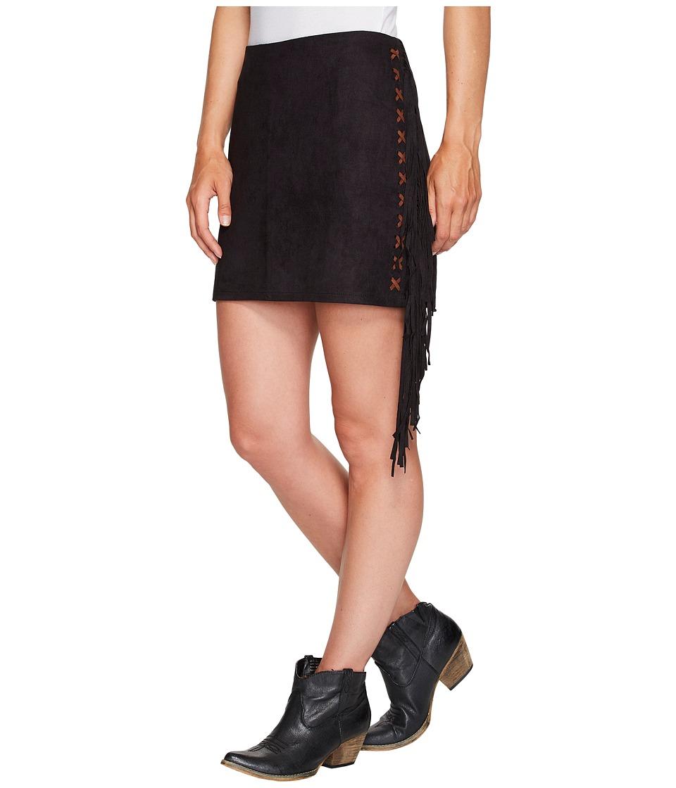 Tasha Polizzi Valley Skirt (Black) Women