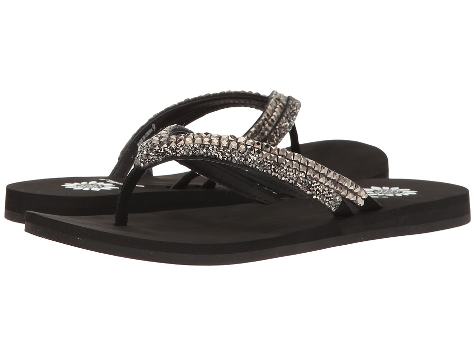 Yellow Box - Everwynn (Hematite) Women's Sandals