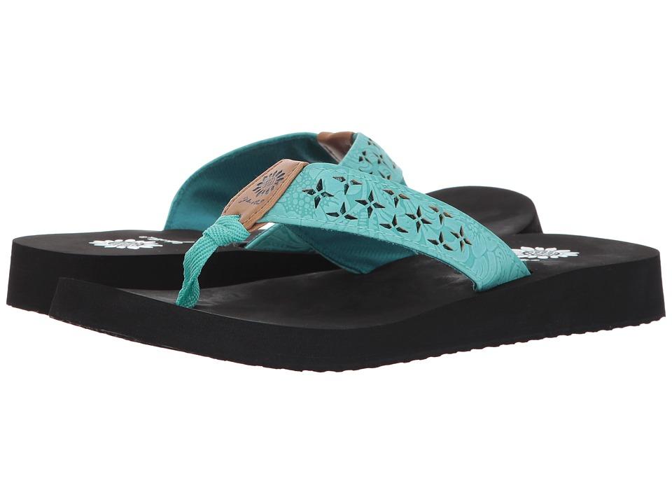 Yellow Box - Benji (Turquoise) Women's Sandals