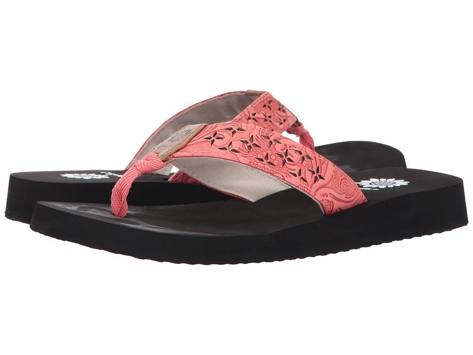 Yellow Box - Benji (Coral) Women's Sandals