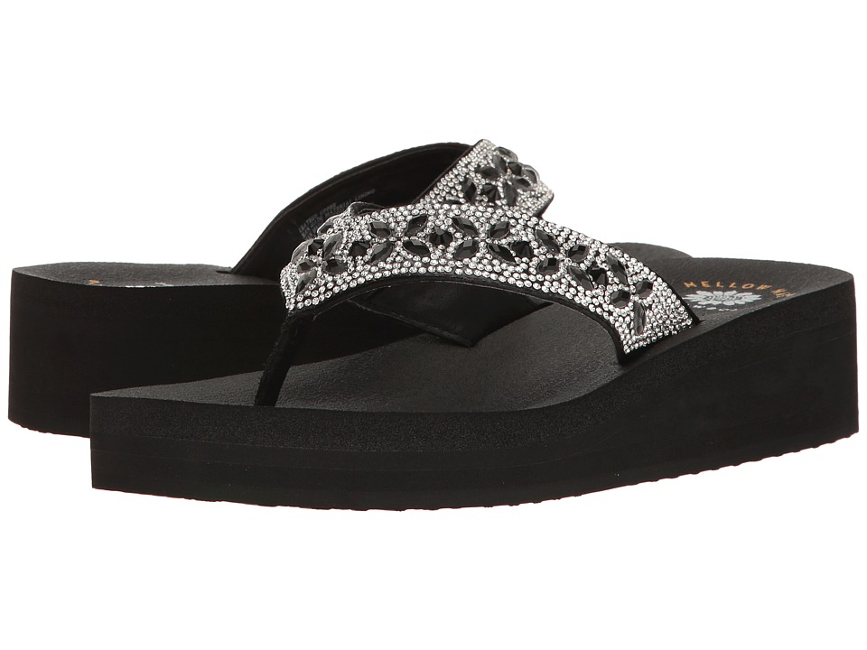 Yellow Box - Alease (Black) Women's Sandals