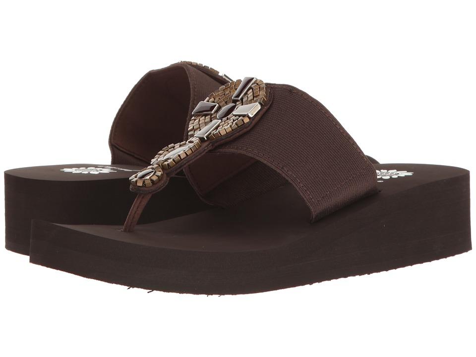 Yellow Box - Bowee (Brown) Women's Sandals