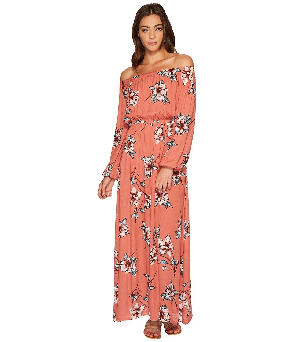 Billabong - Crystal Ball Maxi Dress (Ash Rose) Women's Dress