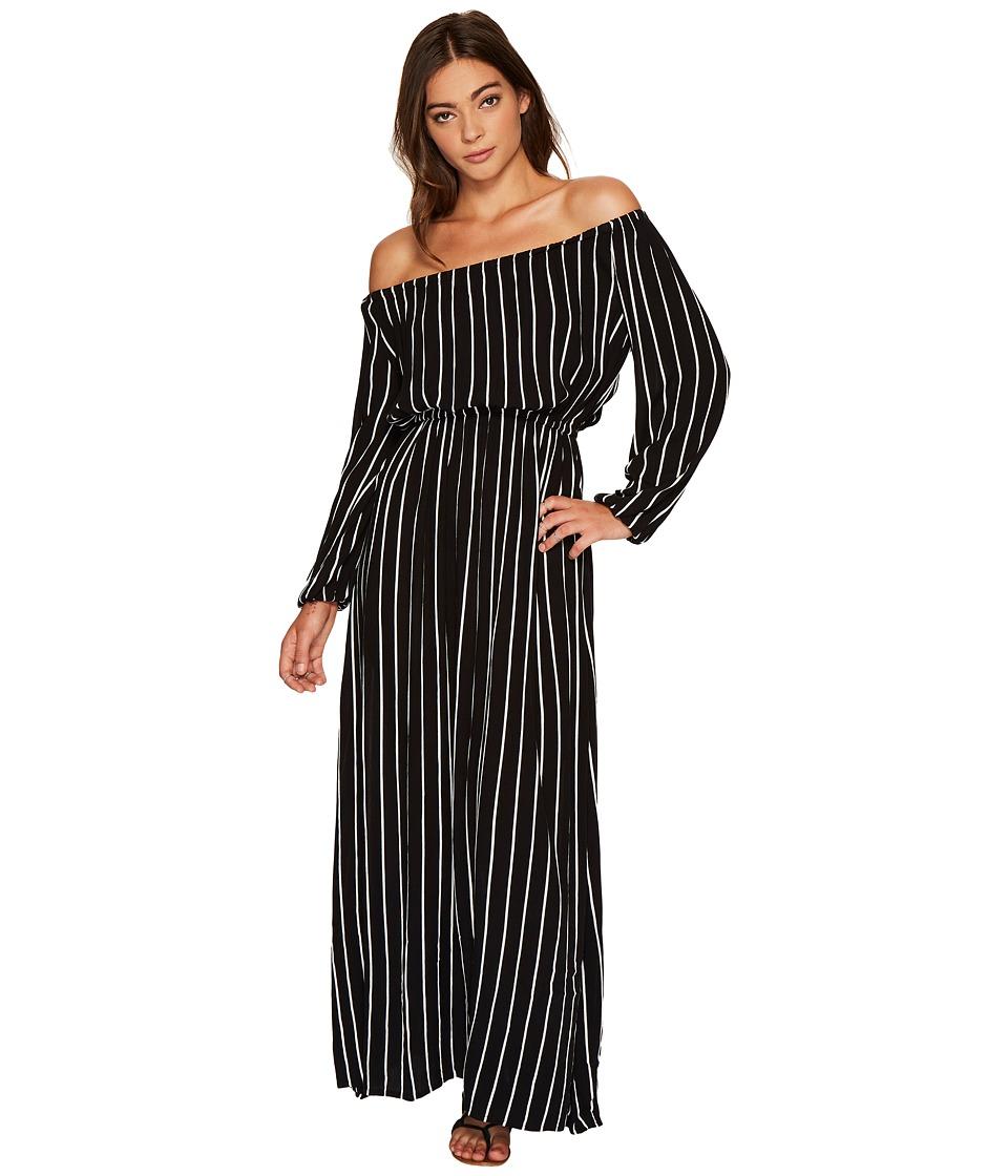 Billabong Crystal Ball Maxi Dress (Black) Women