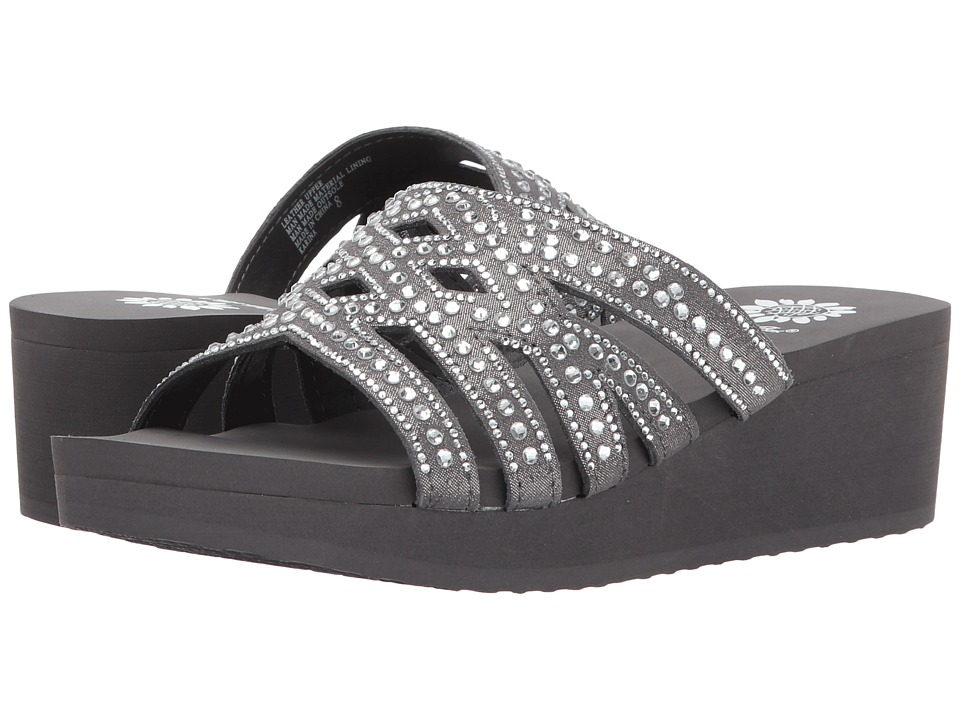 Yellow Box - Karina (Gray) Women's Sandals