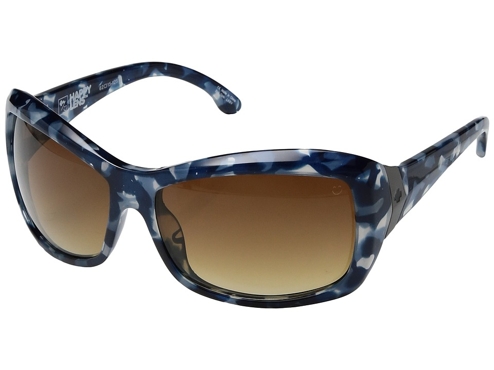 Spy Optic - Farrah (Blue Tort/Happy Bronze Fade) Fashion Sunglasses