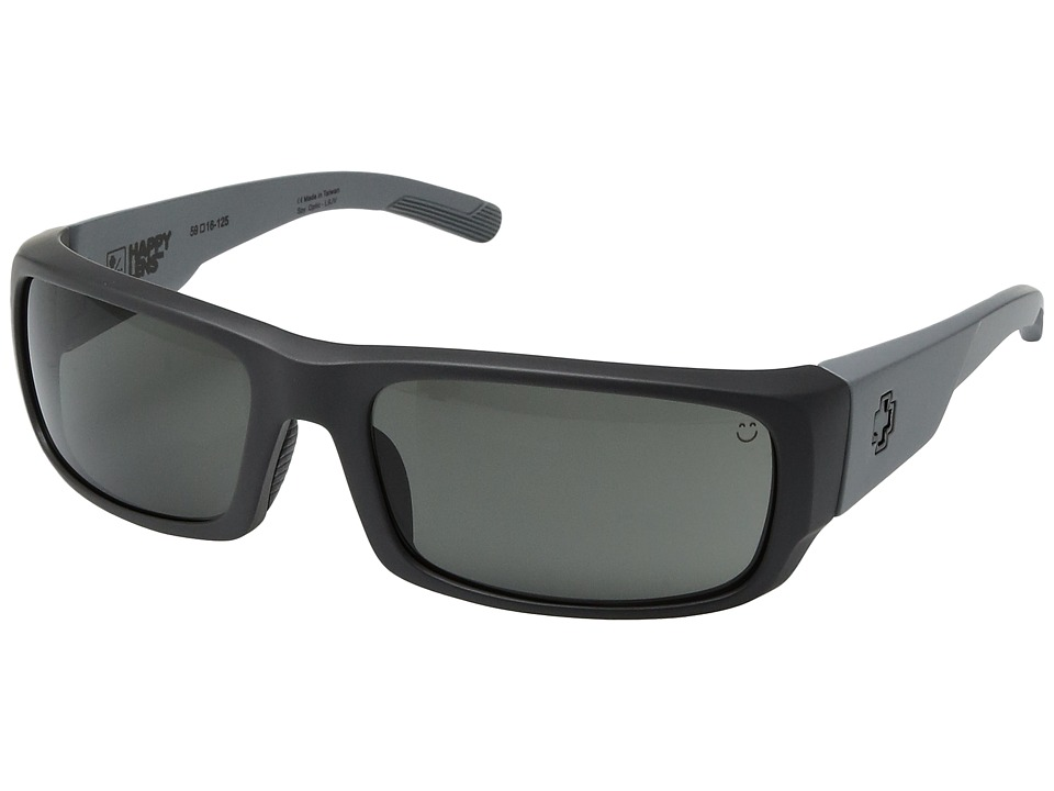 Spy Optic - Caliber (Gray Scale/Happy Gray Green) Sport Sunglasses