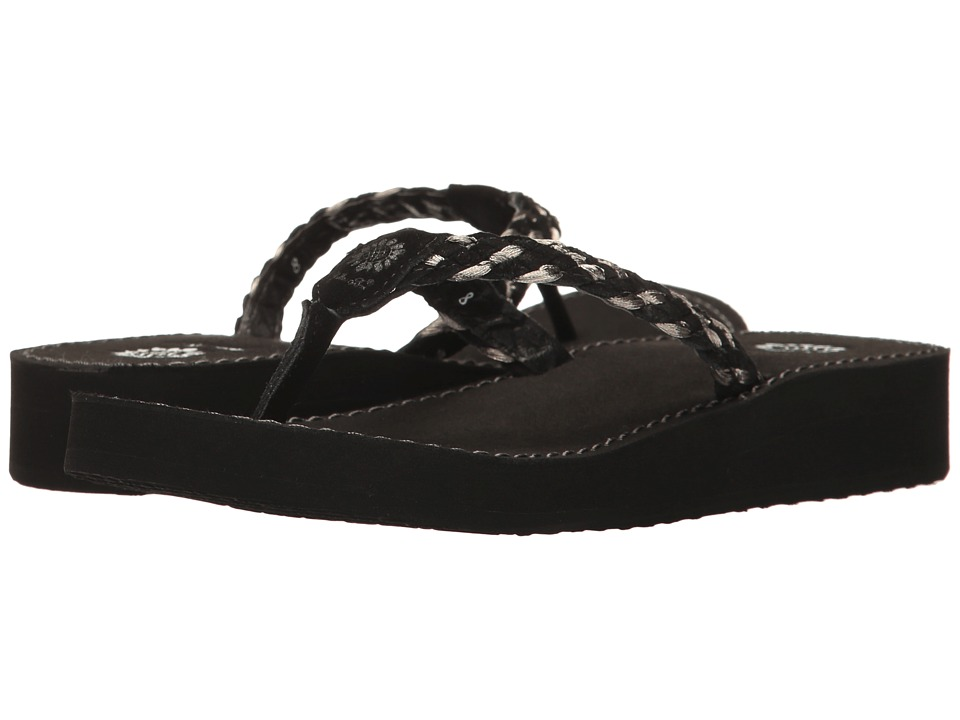 Yellow Box - Quincie (Black) Women's Sandals