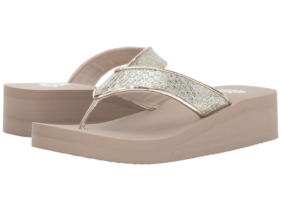 Yellow Box - Riko (Gold) Women's Sandals