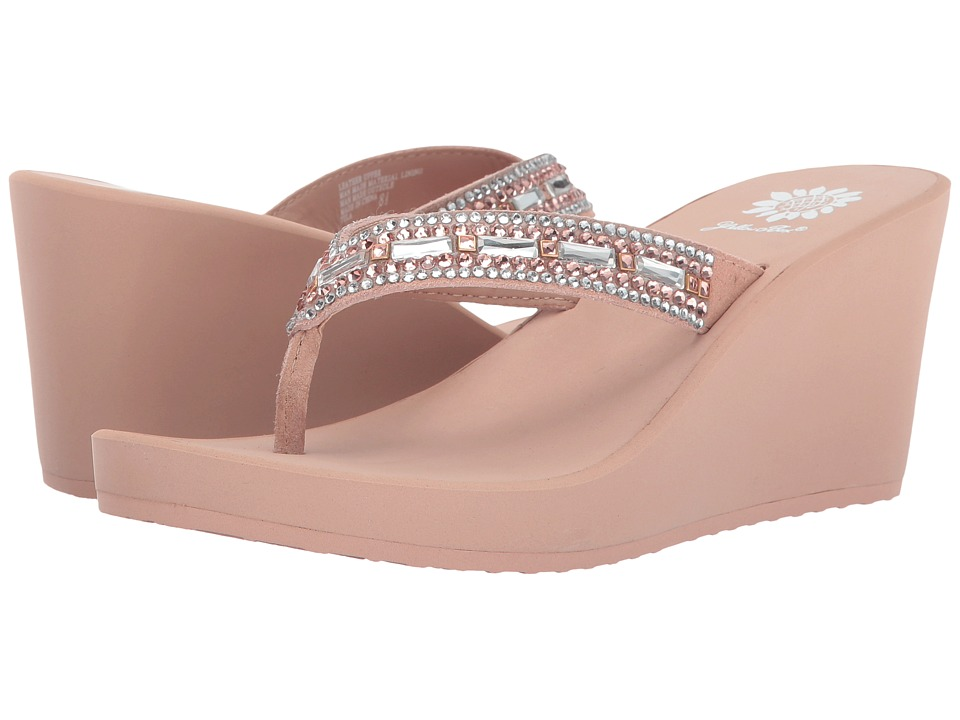 Yellow Box - Tula (Light Sand) Women's Sandals