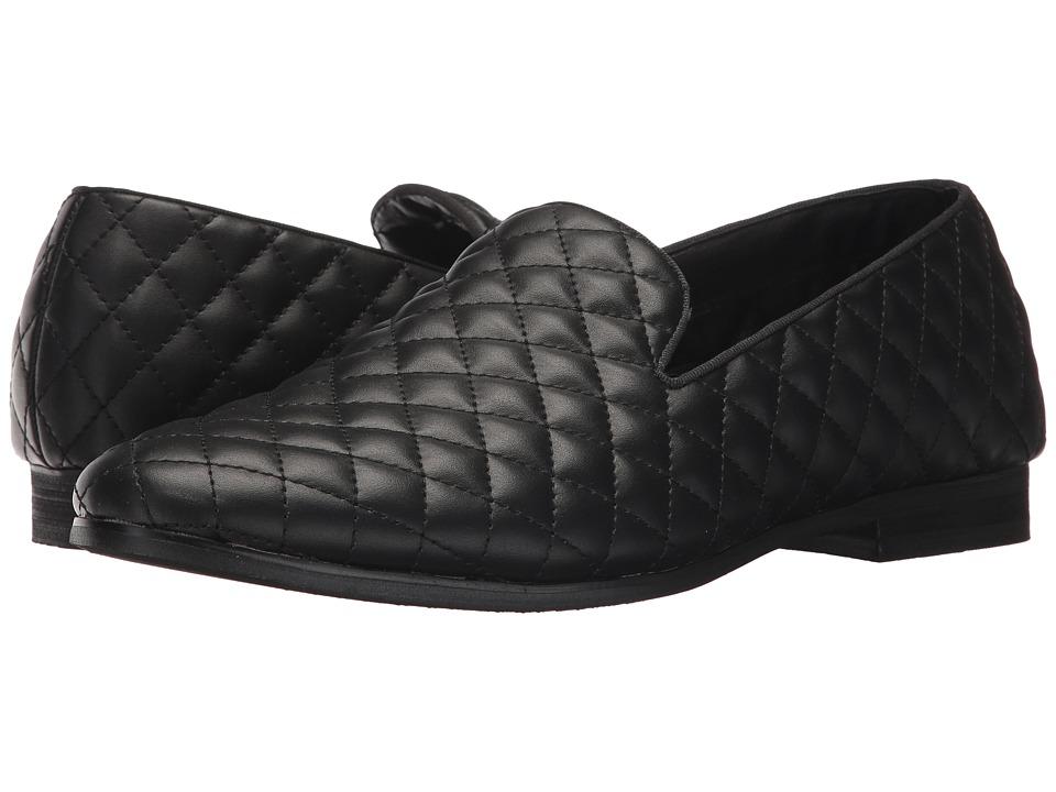 Steve Madden Cubic (Black Leather) Men