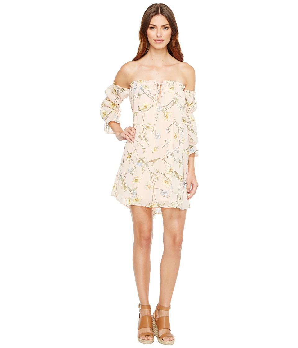 Brigitte Bailey - Geneveive Off the Shoulder Floral Dress (Mint) Women's Dress