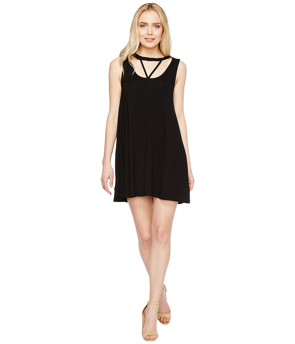 Culture Phit - Laurel Sleeveless Cut Out Dress (Black) Women's Dress