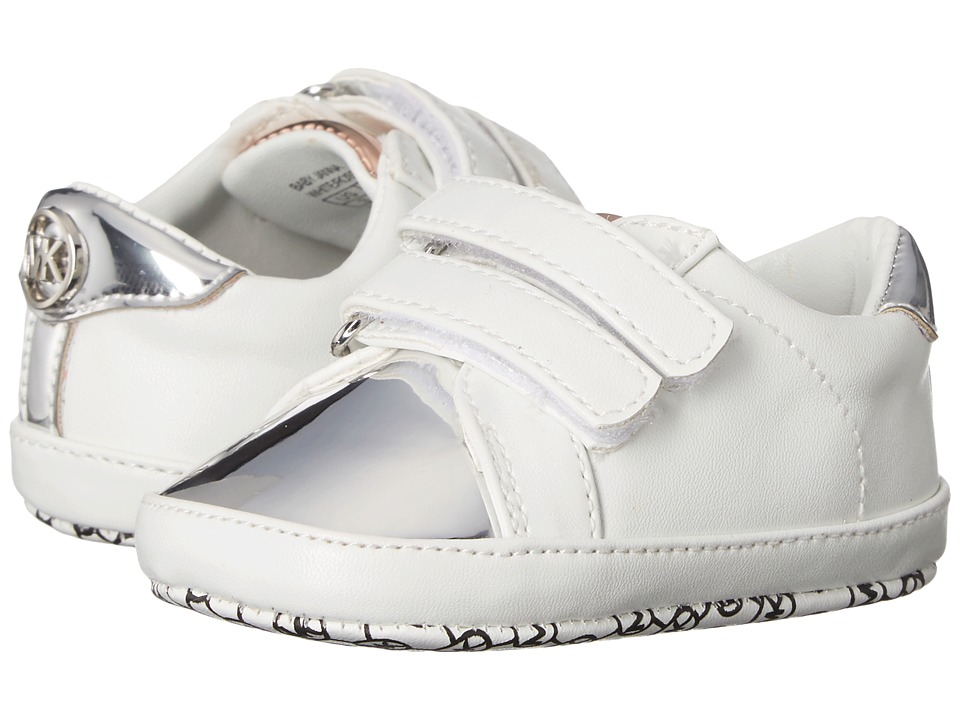 MICHAEL Michael Kors Kids - Baby Janna (Infant/Toddler) (White Multi) Girl's Shoes