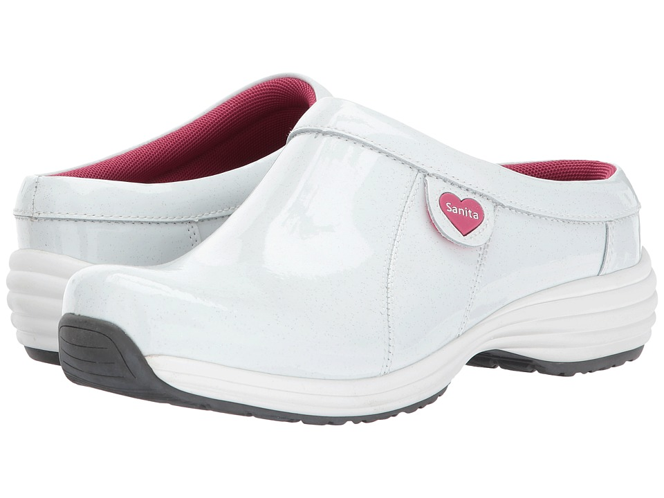 Sanita - O2 Zephyr Life (White Multi) Women's Clog Shoes